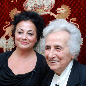 Anita Lasker-Wallfisch and Maya Jacobs-Wallfisch