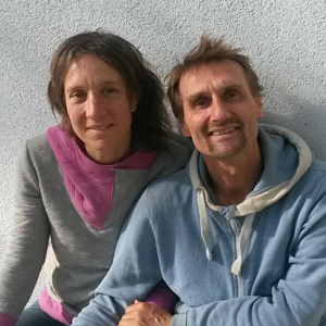 Andreas Duda und Teresa Heidegger